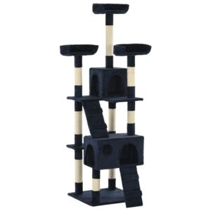 Cat Tree with Sisal Scratching Posts 170 cm Blue