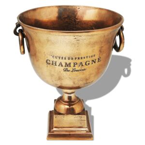Trophy Cup Champagne Cooler Copper Brown