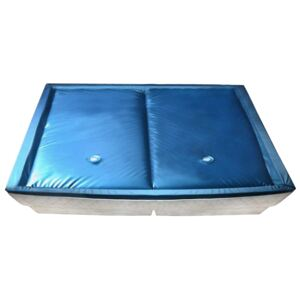 Waterbed Mattress Set with Liner and Divider 200x220 cm F5