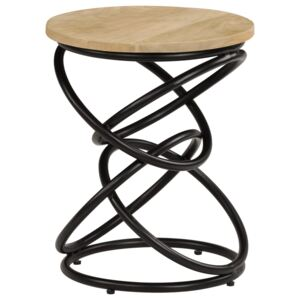 End Table Solid Mango Wood 40x50 cm