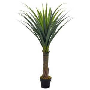 Artificial Plant Yucca Tree with Pot Green 145 cm