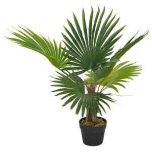 Artificial Plant Palm with Pot Green 70 cm