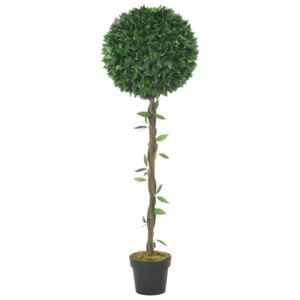 Artificial Plant Bay Tree with Pot Green 130 cm
