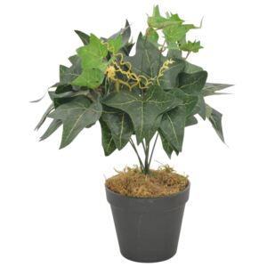 Artificial Plant Ivy Leaves with Pot Green 45 cm