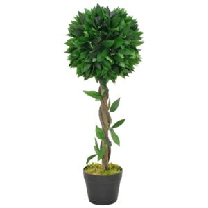 Artificial Plant Bay Tree with Pot Green 70 cm