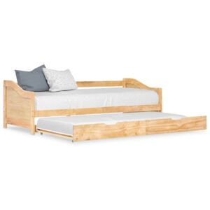 VidaXL Pull-out Sofa Bed Frame Pinewood 90x200 cm