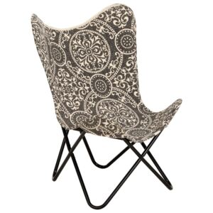 Butterfly Chair Printed Canvas