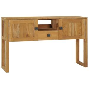 Console Table 120x32x75 cm Solid Teak Wood