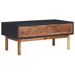 289908 Coffee Table 90x50x40 cm Solid Acacia Wood and MDF