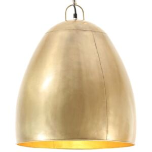 Industrial Hanging Lamp 25 W Brass Round 42 cm E27