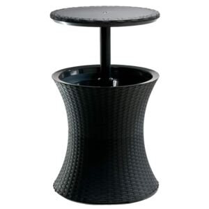 Keter Pacific Cool Bar Rattan Antracite 203835
