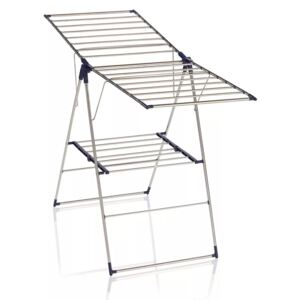 Leifheit Standing Airer Roma 150 Stainless Steel 81156