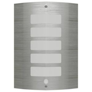 Wall Lamp Stainless Steel with Motion Sensor