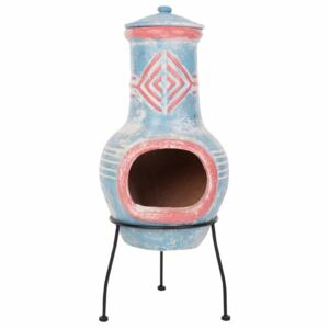 RedFire Fireplace Colima Clay Sea Blue/Red 86031