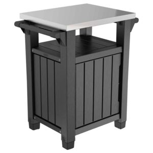 Keter Multifunctional Outdoor Table for BBQ Unity Classic Woodlook
