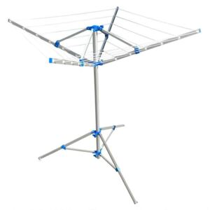 ProPlus Rotary Airer with Foot Grey Metal