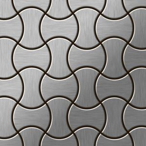 Alloy Infinit-s-s-mb Metal Mosaic Stainless Steel Grey