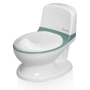 Baninni Potty Trainer with Sound Pippe Green and White