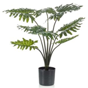 Emerald Artificial Plant Philodendron with Pot 60 cm