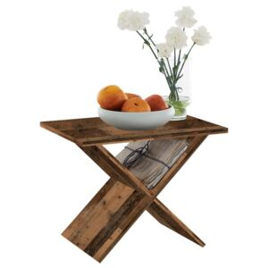 FMD Coffee Table Old Style Brown