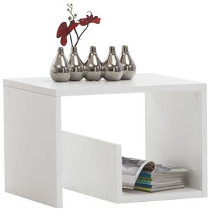 FMD Coffee Table 2-in-1 59.1x35.8x37.8 cm White