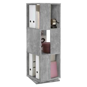 FMD Rotating Filing Cabinet Open 34x34x108 cm Concrete
