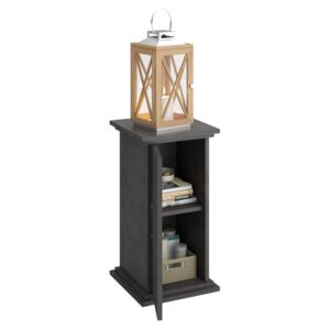 FMD Accent Table with Door 57.4cm Matera