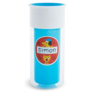 Munchkin Insulated Personalised Cup Miracle 360° Blue