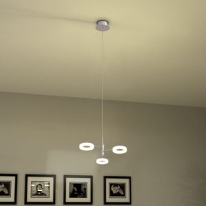 LED Pendant Lamp with 3 Lights Warm White
