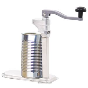 Canned Food Can Opener Silver 70cm Aluminum and Stainless Steel