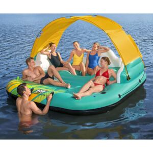 Bestway 5-Person Inflatable Island Sunny Lounge 291x265x83 cm