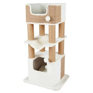 TRIXIE Cat Scratching Post Lucano XXL White and Taupe