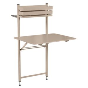 Balcon Bistro Foldable table - 77 x 64 cm by Fermob Beige
