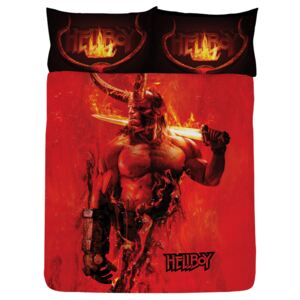 Hellboy Double Duvet Cover and Pillowcase Set