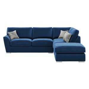 Majestic Right Hand Corner Sofa with Fitted Back Cushions