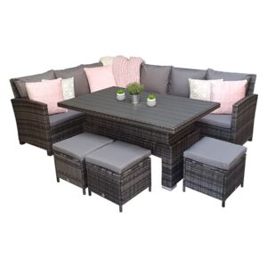 Chanelle Corner Dining With Lift Table
