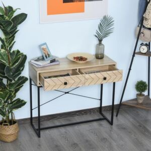 2 Drawer Arrow Console Table