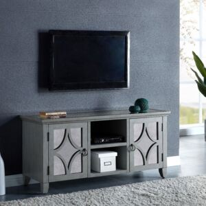 Russell Grey Painted 2 Doors TV Unit