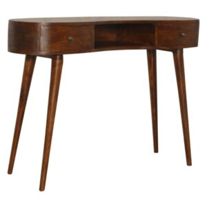 Williston 2 Drawers Rounded Writing Desk