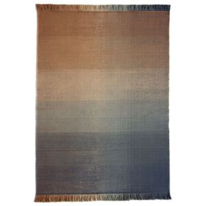 Shade palette 2 Outdoor rug - / 200 x 300 cm by Nanimarquina Blue/Orange
