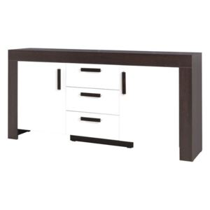 FURNITOP Chest of Drawers 2D 3 drawers CEZAR CZ13