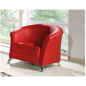 FURNITOP Armchair OLIER red