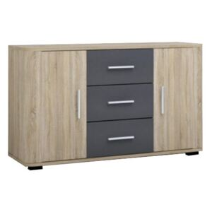 FURNITOP Chest of Drawers 2D3SZ FILL FL4