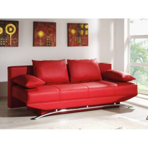 FURNITOP Sofa Bed OLIER red