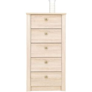 FURNITOP Chest with 5 Drawers FNEZJA FN7