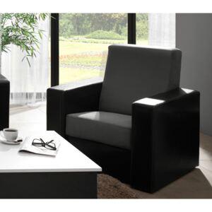 FURNITOP Upholstered Armchair GORDIA GREY