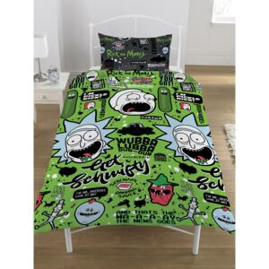 Rick and Morty Get Schwifty Single Duvet Cover Set