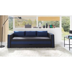 FURNITOP Sofa Bed EUFORIA blue with Sleep Function