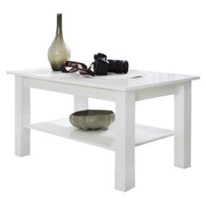 FURNITOP Coffee Table T23 white gloss