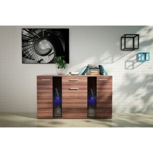 FURNITOP Chest of Drawers SIGMA plum